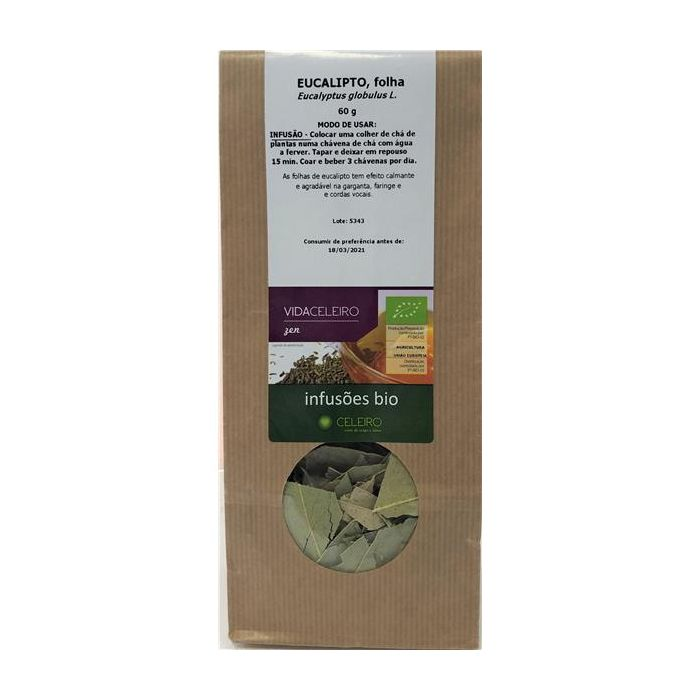 Chá Eucalipto Bio