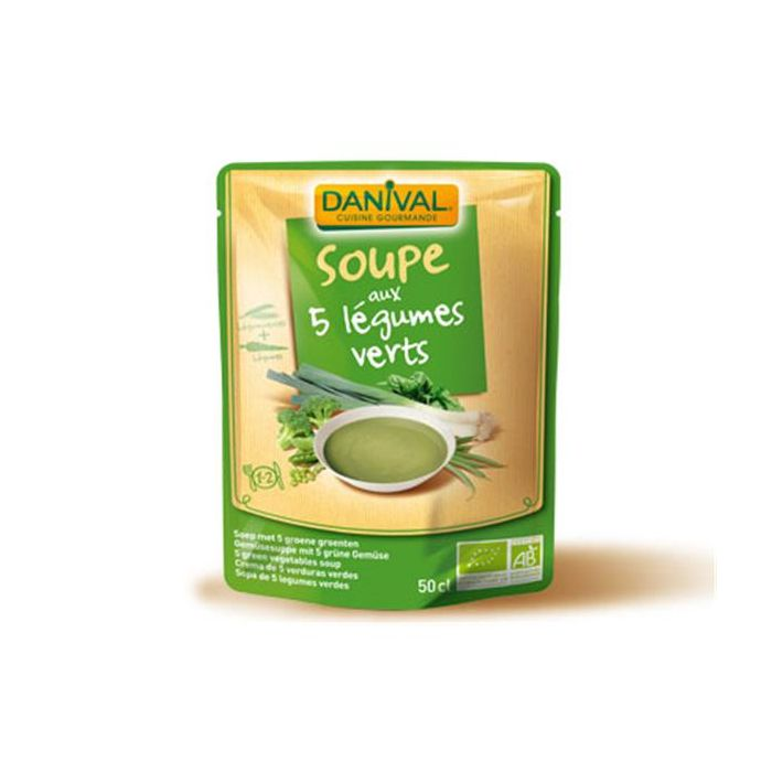 Sopa 5 Legumes Verdes Bio Pacote