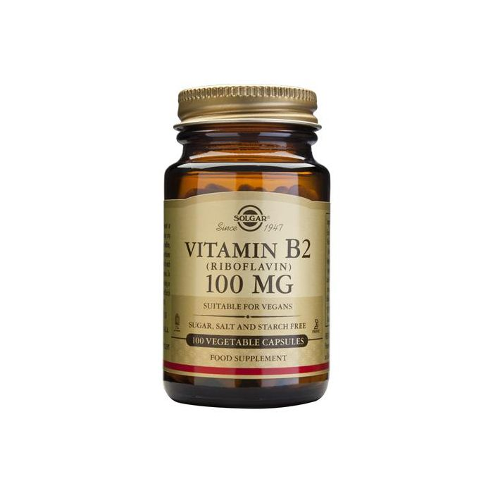 Vitamina B2 (Riboflavina)100 Mg