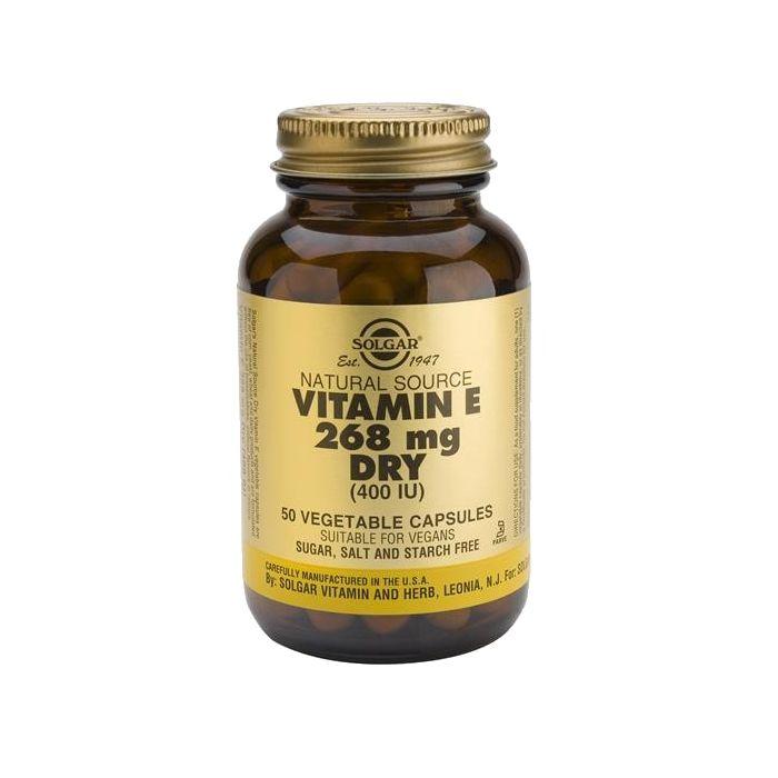 Vitamina E 268 Mg (400Ui) Forma Não Oleosa