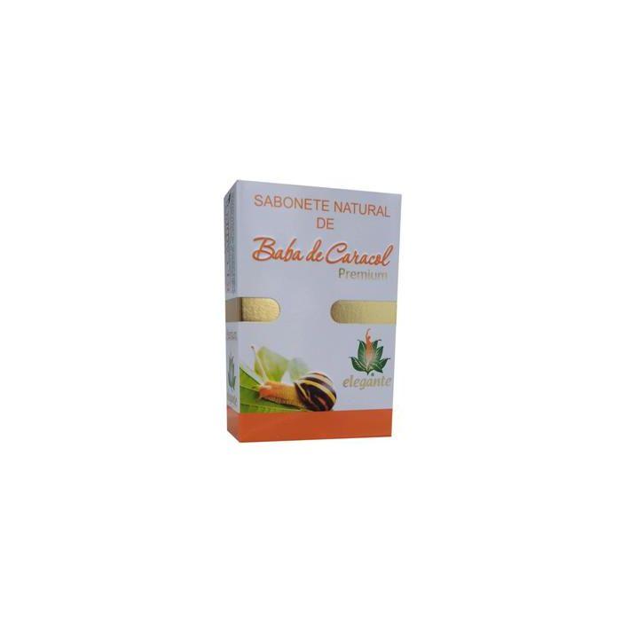 Elegante Sabonete Natural Baba De Caracol
