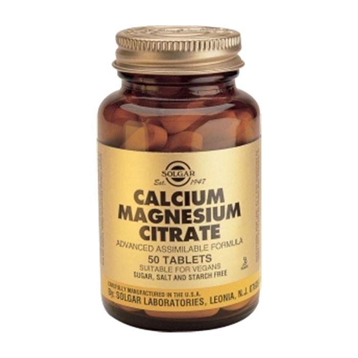 Citrato De Cálcio E Magnésio De Elevada Potencia