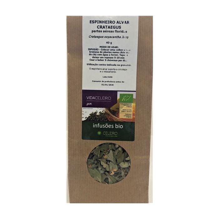 Chá Crataegus/Espinheiro Alvar Bio