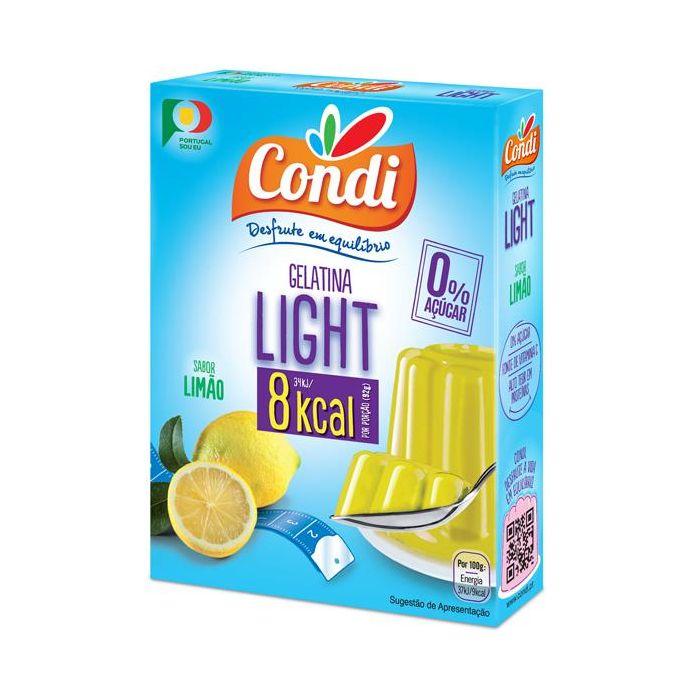 Gelatina Sabor Limão Light
