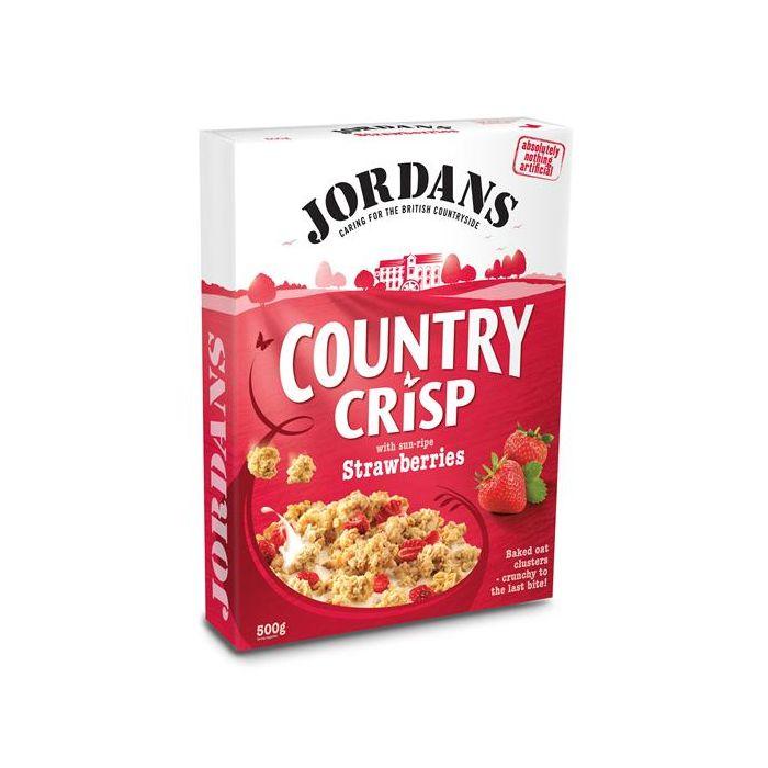 Cereais Country Crisp Com Morangos