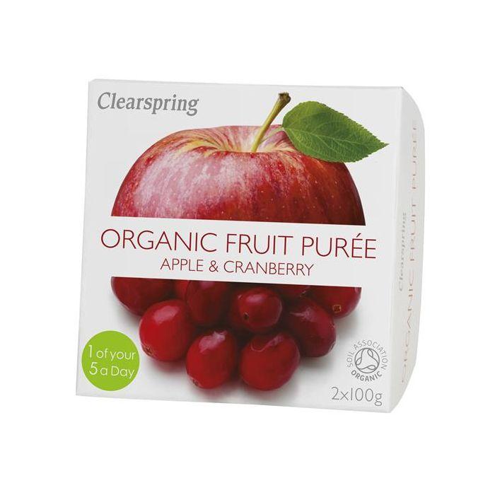 Pure Fruta Maçã+Arando Vermelho Bio