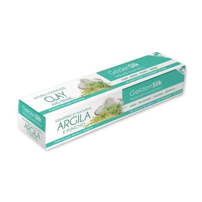 Dentífrico Natural De Argila E Funcho