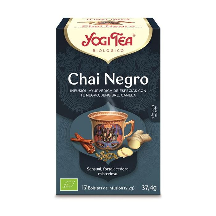 Chá Preto Bio Chai Negro