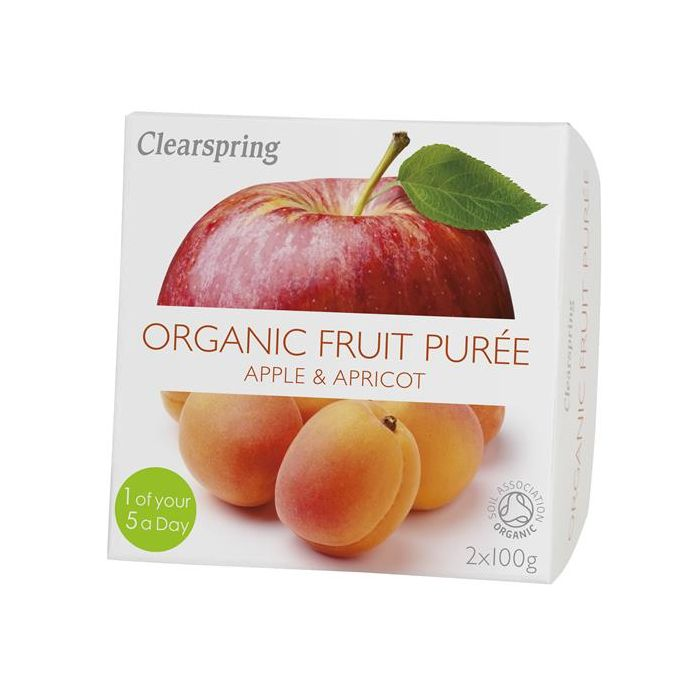 Pure Fruta Maçã+Alperce Bio