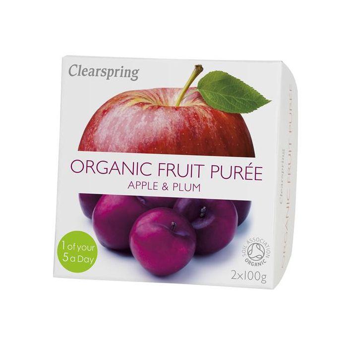 Pure Fruta Maçã+Ameixa Bio