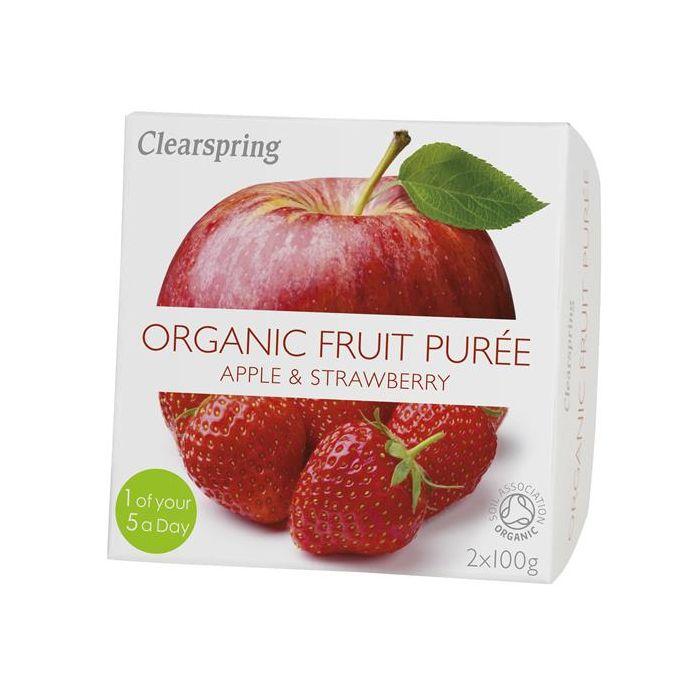 Pure Fruta Maçã+Morango Bio