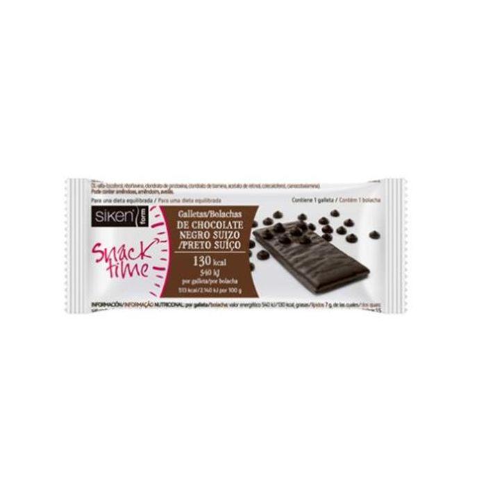 Siken Form Snacks Chocolate Preto