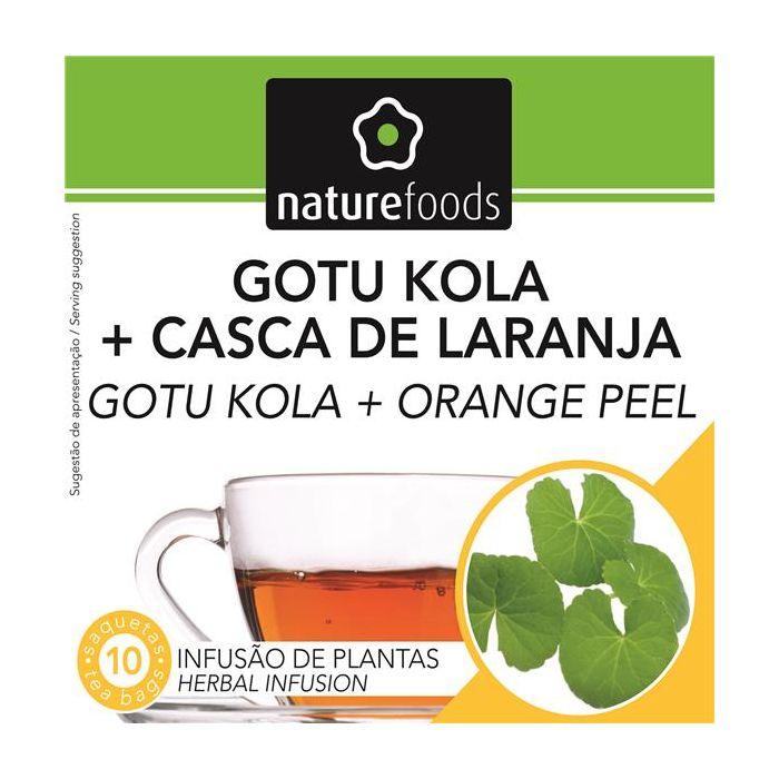 Chá Gotu Kola+Casca De Laranja