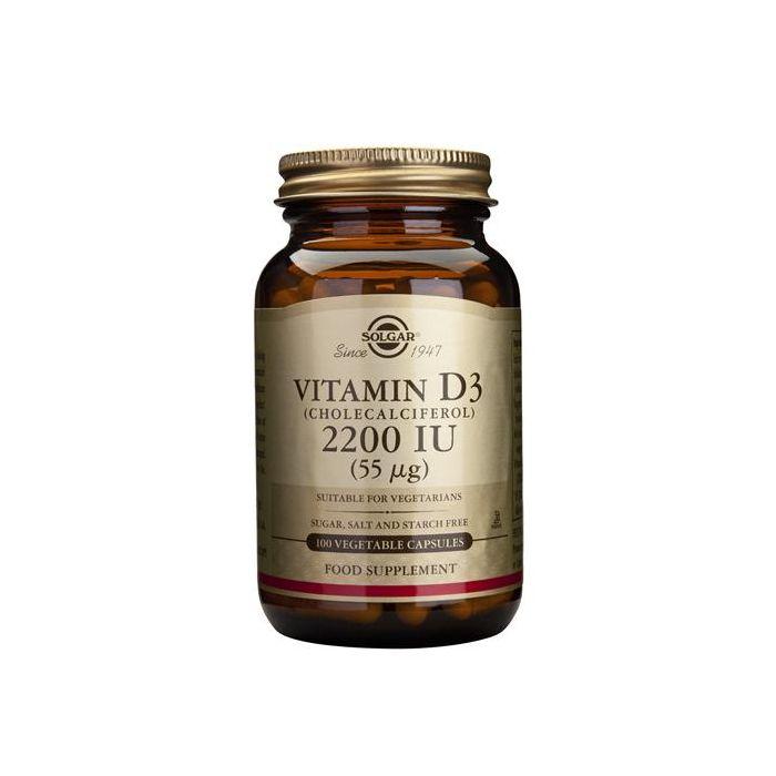 Vitamina D3 2200 Ui (55 Mcg)