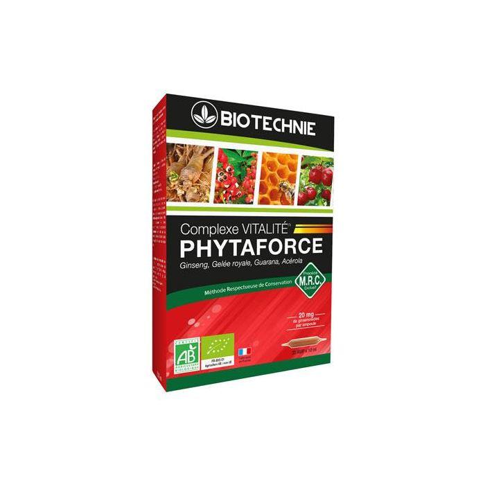 Phytaforce Bio 20 Ampolas