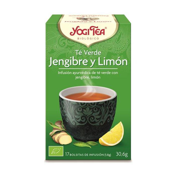 Chá Verde Bio Gengibre, Plantas E Limão
