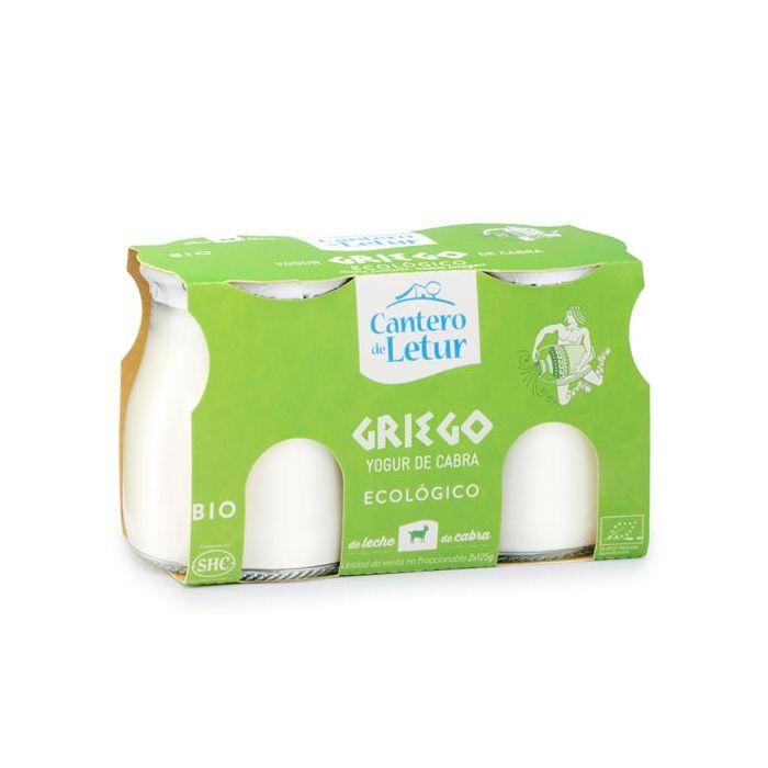 Iogurte De Leite De Cabra Grego Bio Natural