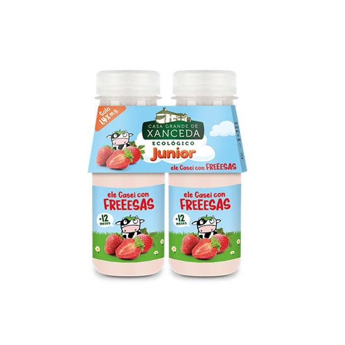 Iogurte Líquido L. Casei Morango Bio