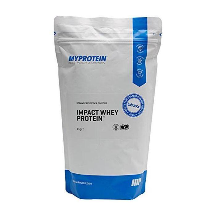 Impact Whey Protein Stevia - Morango