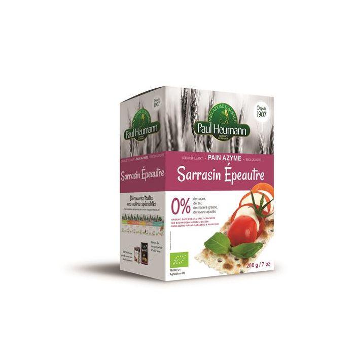 Pão Ázimo Bio Trigo Sarraceno+Espelta