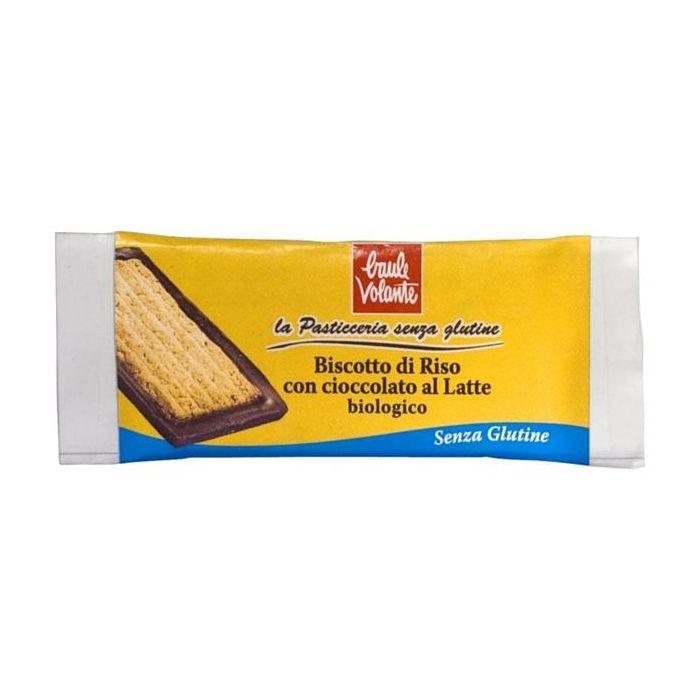 Bolacha De Arroz Com Chocolate De Leite Bio Sem Glúten