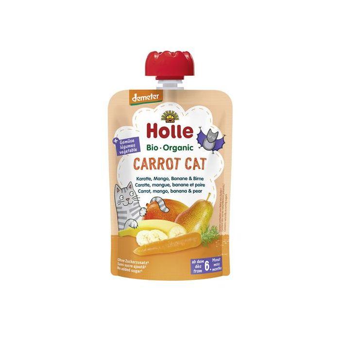 Carrot Cat Puré Frutos Bio 6M