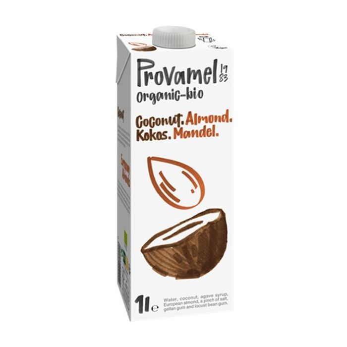 Bebida Bio De Coco-Amêndoa