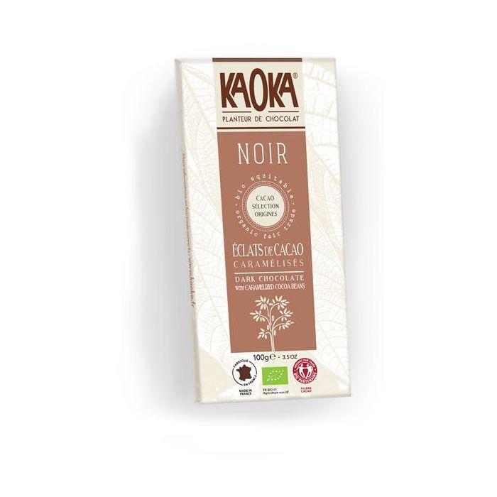 Chocolate Preto 61% Cacau Caramelo Bio Fair Trade