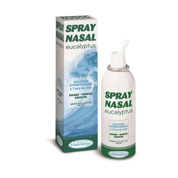 Spray Nasal Solução De Água De Mar E Eucalipto