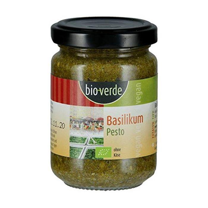 Pesto Manjericão Vegan Bio