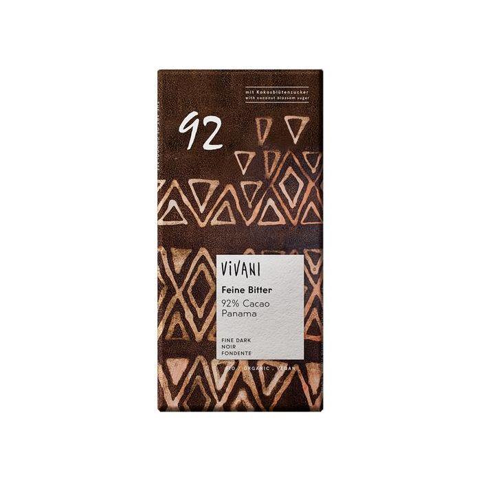 Chocolate 92 % Cacau Bio