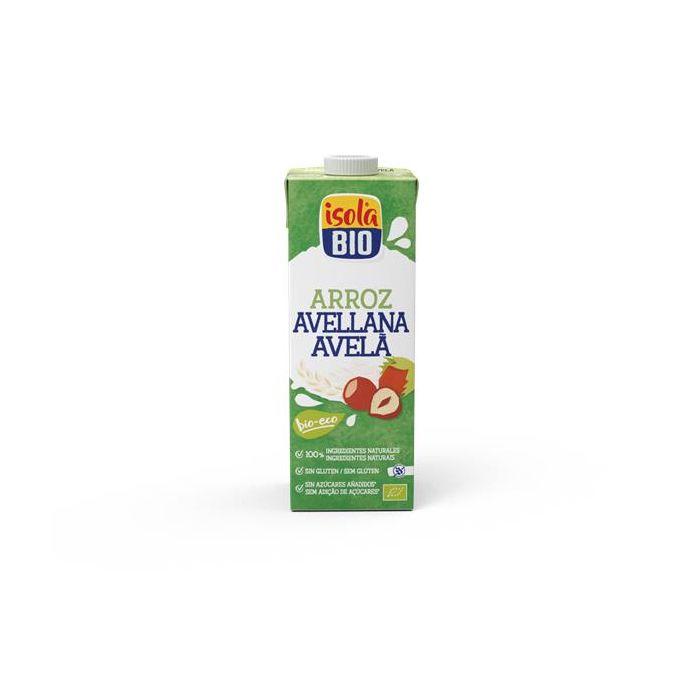 Bebida De Arroz C/ Avelã Isola Bio 1Lt
