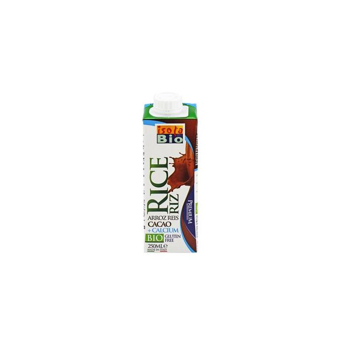 Bebida De Arroz + Cacau + Cálcio Bio Isola