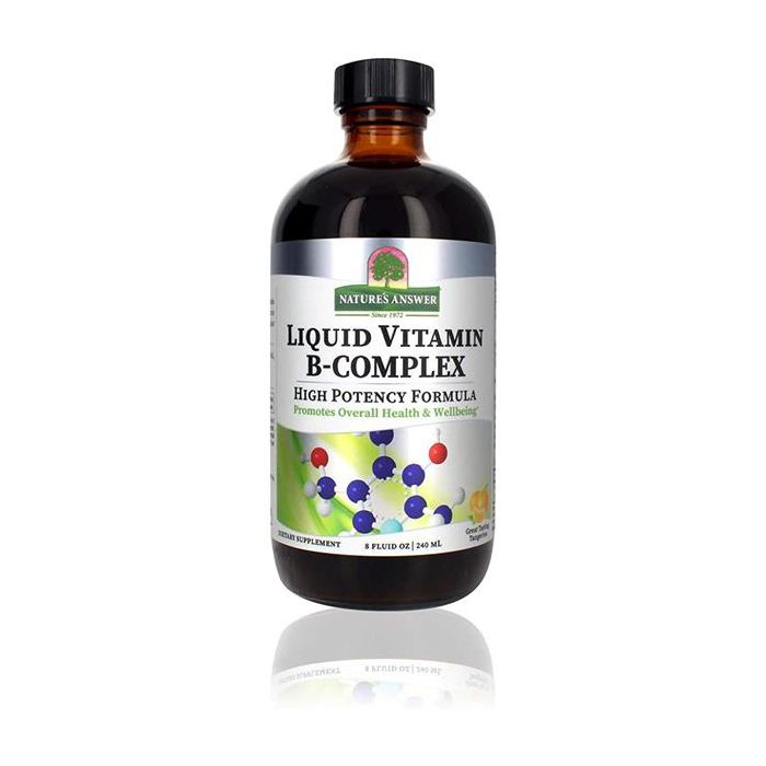 Vitaminas Complexo B - Líquido Sem Álcool - Sabor Tangerina