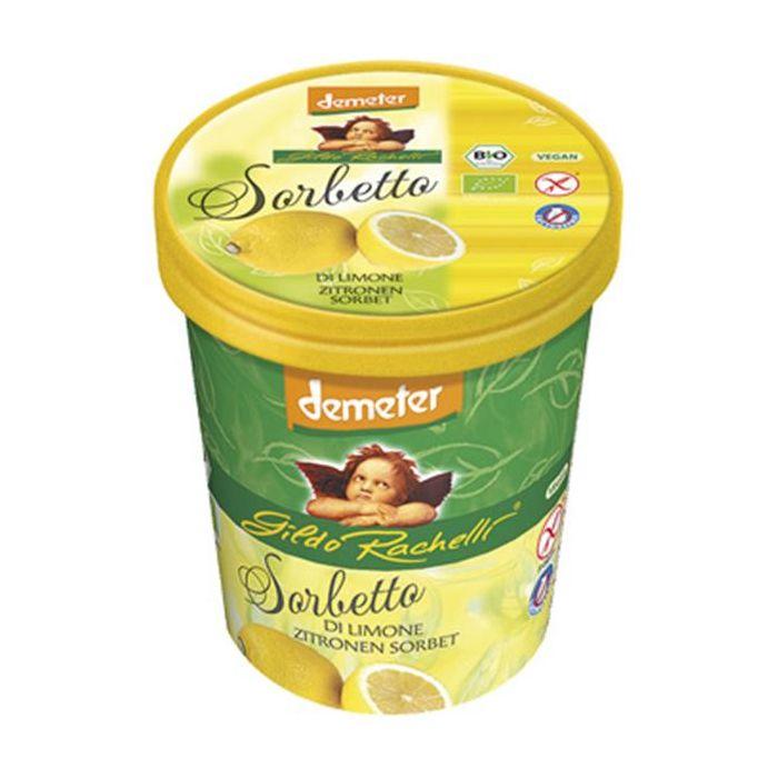 Sorvete Limão Bio Sem Glúten E Sem Lactose