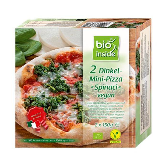 Mini Pizza Espinafres Vegan