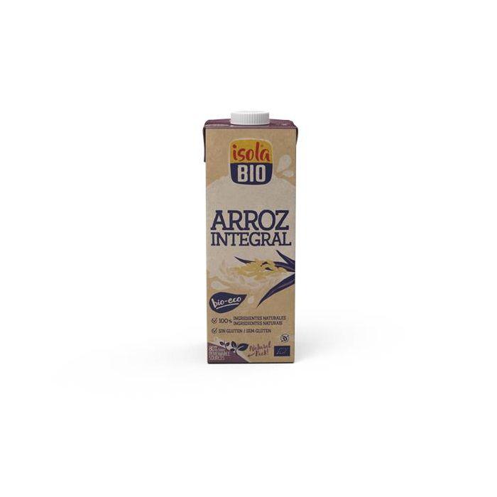 Bebida De Arroz Integral Isola Bio 1L