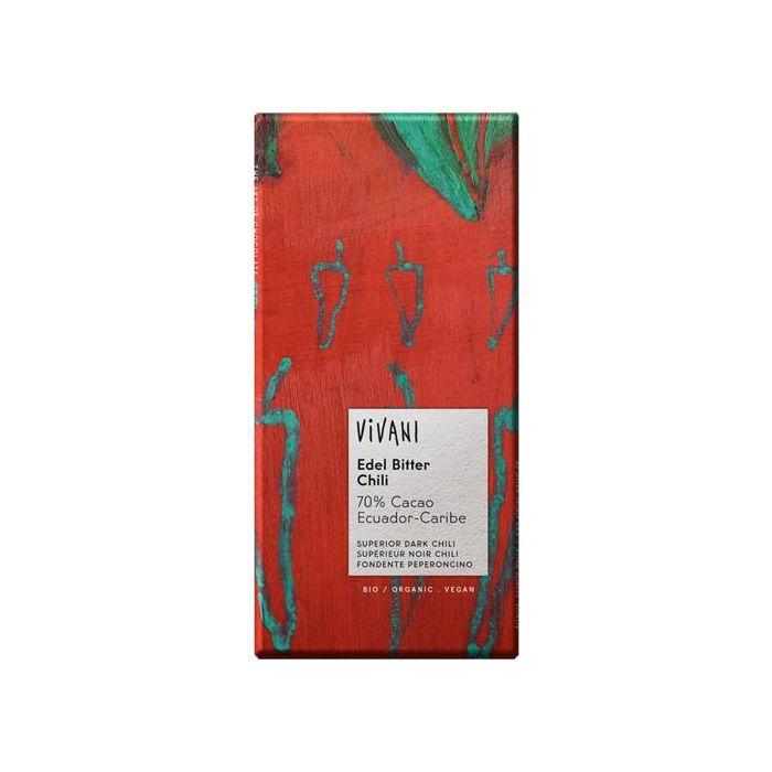 Chocolate Preto Com Malagueta Bio
