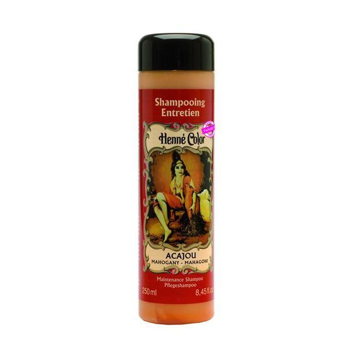 Shampoo Para O Cabelo Henné Color Acajou