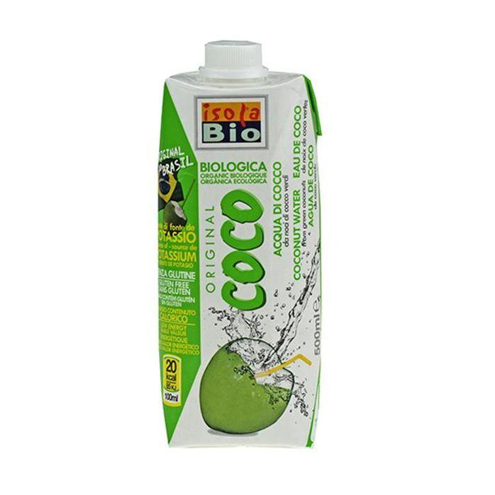 Água De Coco Verde Isola Bio 500Ml