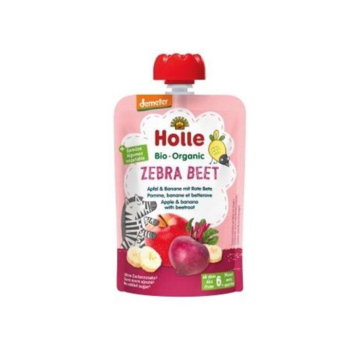 Zebra Beet Puré Frutos 6M