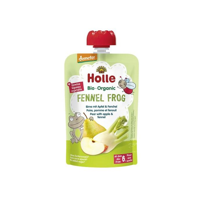 Fennel Frog Puré Frutos Bio 6M