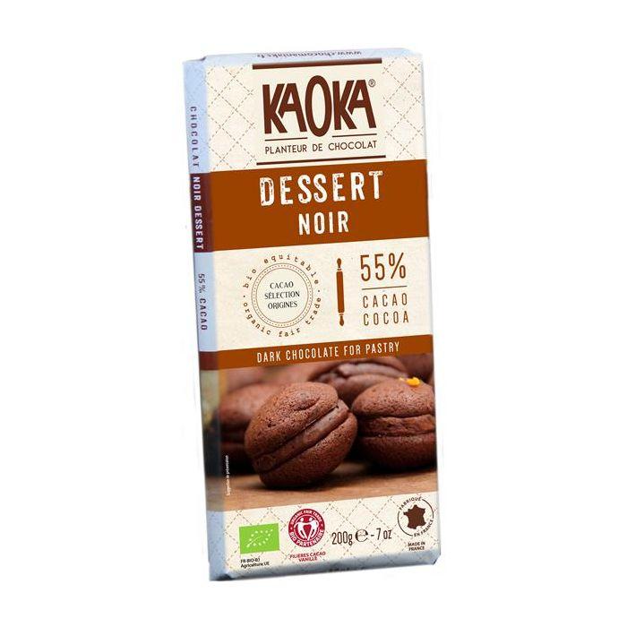Chocolate Preto Culinária 58% Cacau Bio Fair Trade