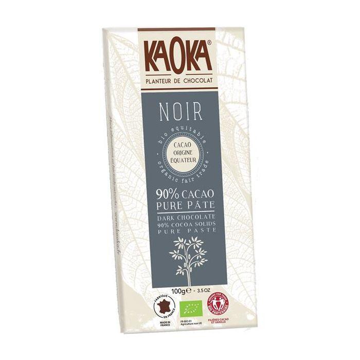 Chocolate Preto 90% Cacau Bio Fair Trade Equador