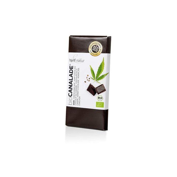 Chocolate Preto Com Canhamo 70% Cacau Bio