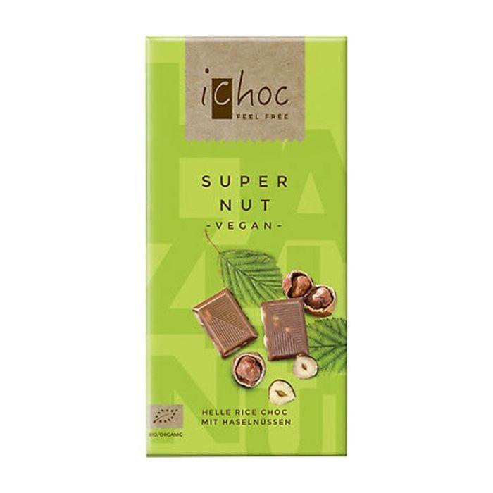 Chocolate De Arroz Com Avelãs Bio