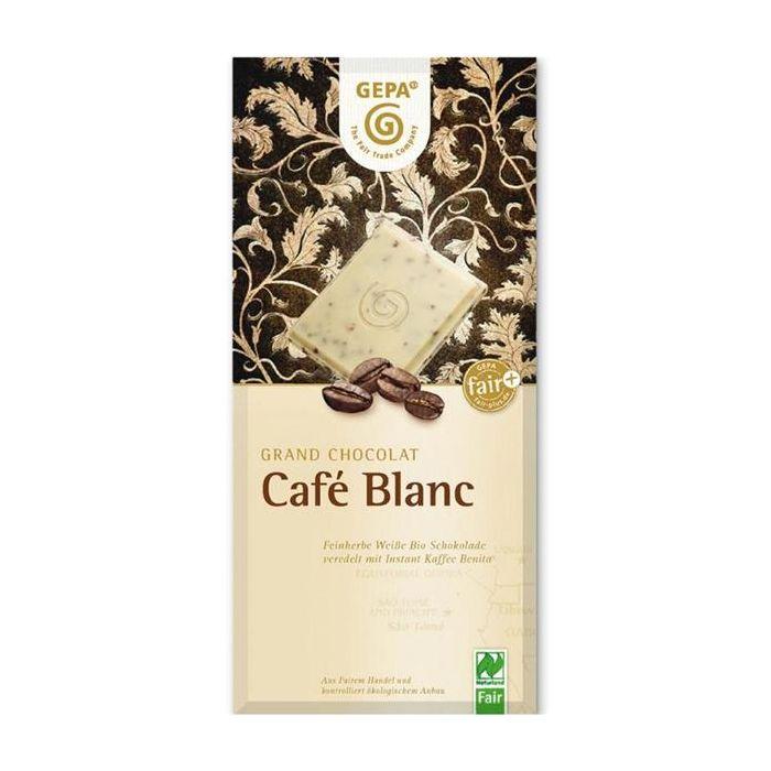 Chocolate Branco Com Café Bio