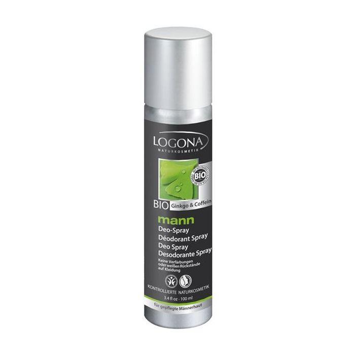 Desodorizante Spray Ginkgo + Cafeina