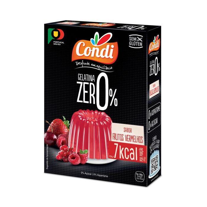 Gelatina Zero De Frutos Vermelhos