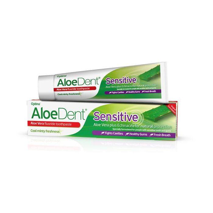 Pasta Dentes Aloe Vera Com Flúor - Dentes Sensiveis